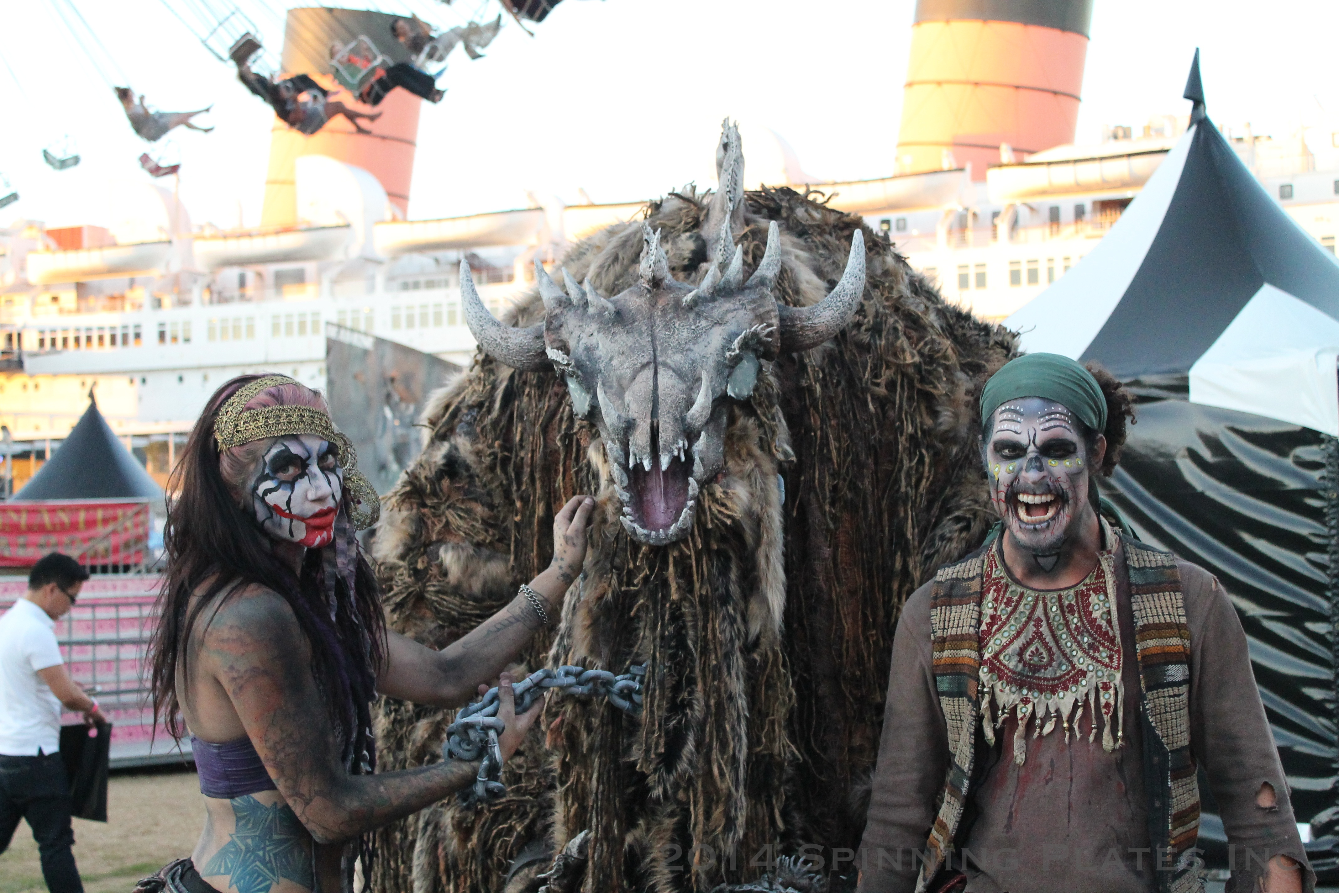 DARK HARBOR at the Queen Mary 2014 | Spinning Plates Inc.